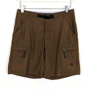 Mountain Hardwear Brown Mesa Hiking Outdoor Shorts